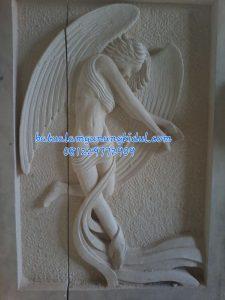 RELIEF ANGEL-Relief Motif Orang Batu Alam