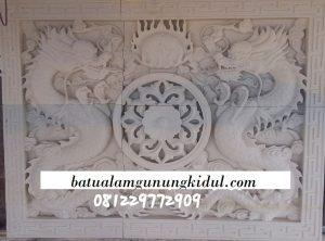 relief naga batu alam